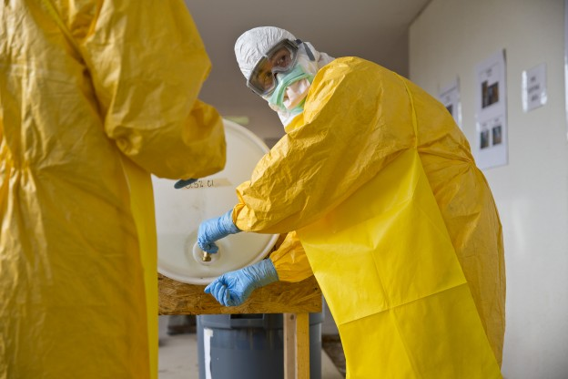 CDC EBOLA TRAINING