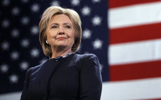 Democratic presidential candidate Hillary Clinton is introduced during a campaign stop Friday, Jan. 22, 2016, in Rochester, N.H. (AP Photo/Matt Rourke)